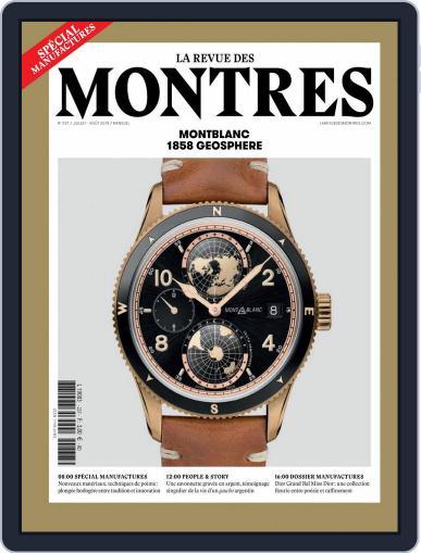 La revue des Montres (Digital) July 1st, 2018 Issue Cover
