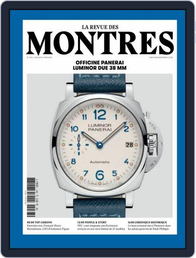 La revue des Montres (Digital) June 1st, 2018 Issue Cover