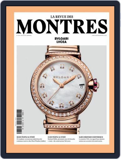 La revue des Montres (Digital) May 1st, 2018 Issue Cover