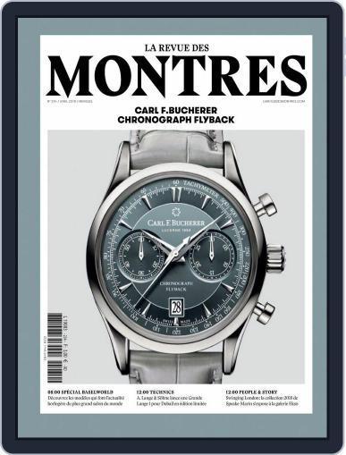 La revue des Montres (Digital) April 1st, 2018 Issue Cover
