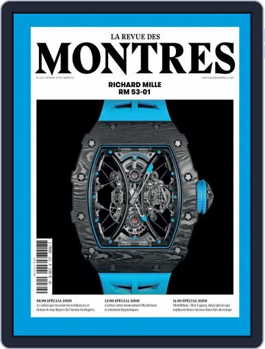 La revue des Montres (Digital) February 1st, 2018 Issue Cover