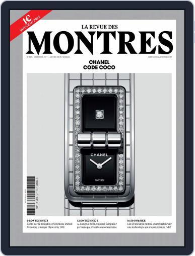 La revue des Montres (Digital) December 1st, 2017 Issue Cover