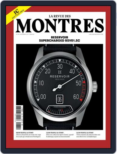 La revue des Montres (Digital) November 1st, 2017 Issue Cover