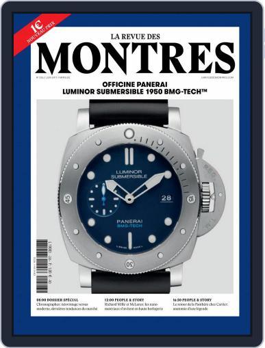 La revue des Montres (Digital) June 1st, 2017 Issue Cover
