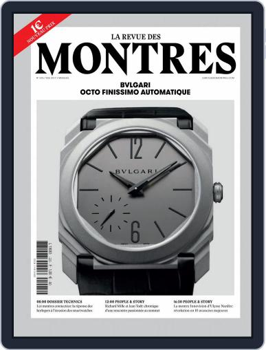 La revue des Montres (Digital) May 1st, 2017 Issue Cover
