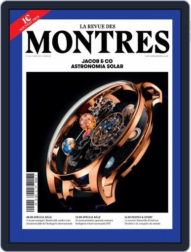La revue des Montres (Digital) March 31st, 2017 Issue Cover