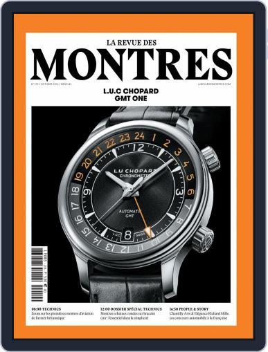 La revue des Montres (Digital) October 1st, 2016 Issue Cover
