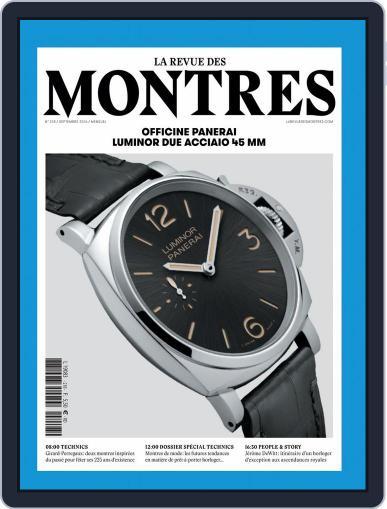 La revue des Montres (Digital) September 1st, 2016 Issue Cover