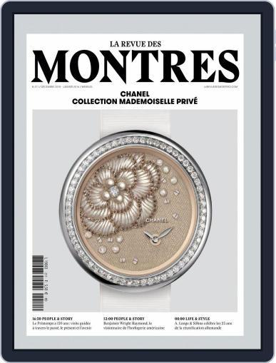 La revue des Montres (Digital) December 1st, 2015 Issue Cover