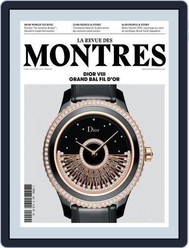 La revue des Montres (Digital) October 31st, 2015 Issue Cover