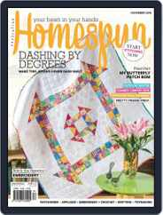 Australian Homespun (Digital) Subscription November 1st, 2018 Issue
