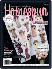 Australian Homespun (Digital) Subscription April 1st, 2018 Issue