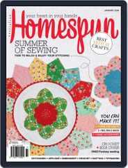 Australian Homespun (Digital) Subscription January 1st, 2018 Issue