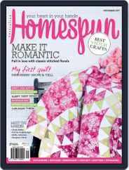 Australian Homespun (Digital) Subscription November 1st, 2017 Issue