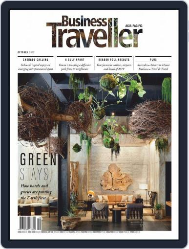 Business Traveller Asia-Pacific Edition October 1st, 2019 Digital Back Issue Cover