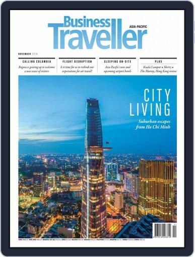 Business Traveller Asia-Pacific Edition November 1st, 2018 Digital Back Issue Cover