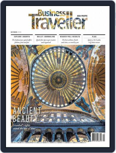Business Traveller Asia-Pacific Edition October 1st, 2018 Digital Back Issue Cover