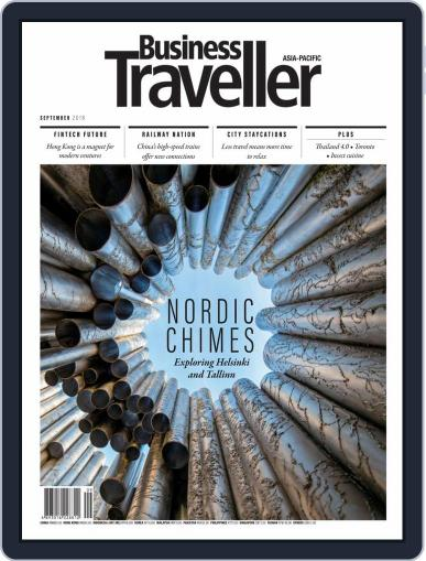 Business Traveller Asia-Pacific Edition September 1st, 2018 Digital Back Issue Cover