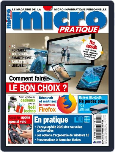 Micro Pratique (Digital) December 1st, 2019 Issue Cover