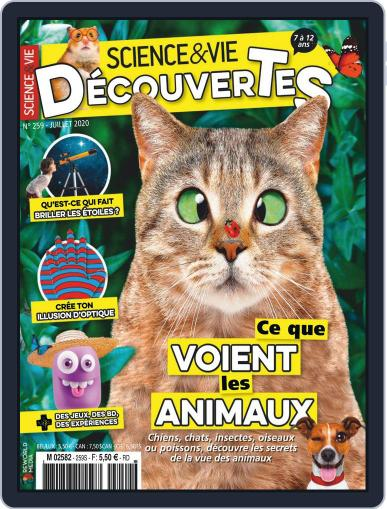 Science & Vie Découvertes (Digital) July 1st, 2020 Issue Cover