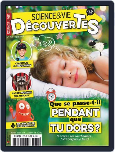 Science & Vie Découvertes (Digital) June 1st, 2020 Issue Cover