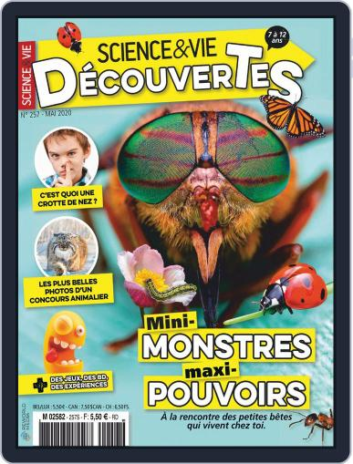 Science & Vie Découvertes (Digital) May 1st, 2020 Issue Cover