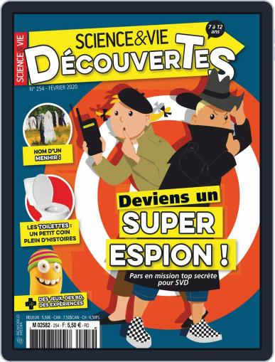 Science & Vie Découvertes (Digital) February 1st, 2020 Issue Cover