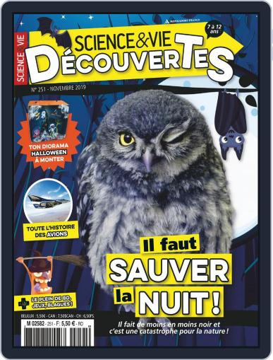 Science & Vie Découvertes (Digital) November 1st, 2019 Issue Cover