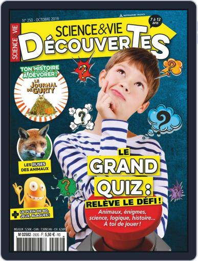 Science & Vie Découvertes (Digital) October 1st, 2019 Issue Cover