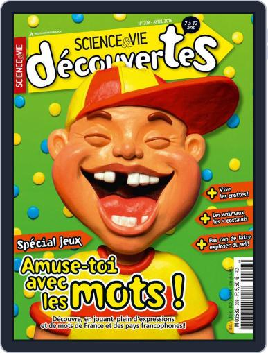 Science & Vie Découvertes (Digital) March 9th, 2016 Issue Cover