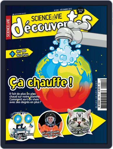 Science & Vie Découvertes (Digital) December 9th, 2015 Issue Cover
