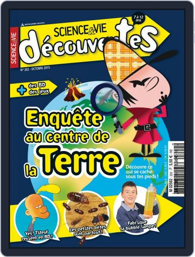 Science & Vie Découvertes (Digital) October 6th, 2015 Issue Cover