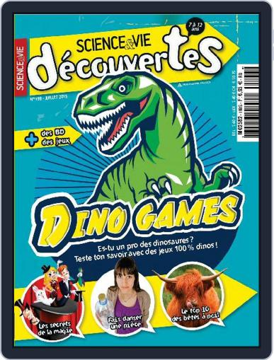 Science & Vie Découvertes (Digital) July 7th, 2015 Issue Cover