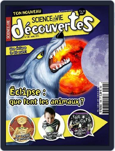 Science & Vie Découvertes (Digital) April 7th, 2015 Issue Cover