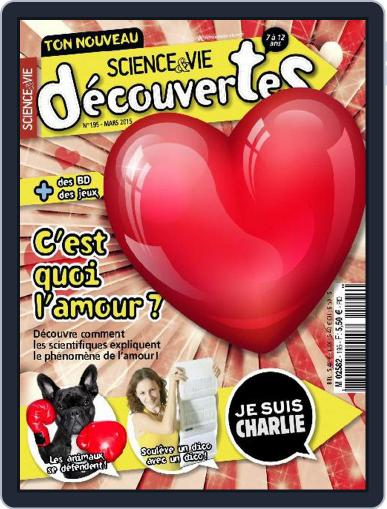 Science & Vie Découvertes (Digital) March 10th, 2015 Issue Cover