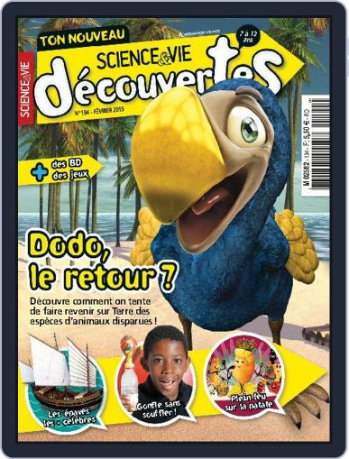 Science & Vie Découvertes (Digital) February 10th, 2015 Issue Cover