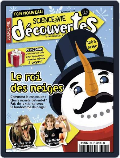 Science & Vie Découvertes (Digital) December 9th, 2014 Issue Cover