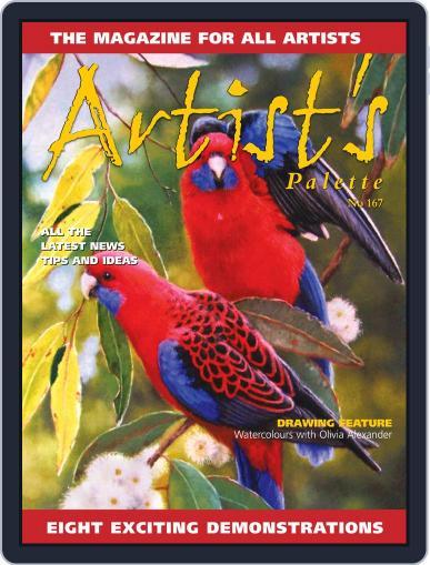 Artist's Palette August 1st, 2019 Digital Back Issue Cover