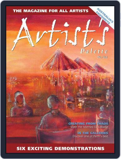 Artist's Palette December 1st, 2018 Digital Back Issue Cover