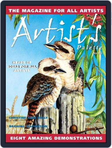 Artist's Palette (Digital) November 1st, 2018 Issue Cover
