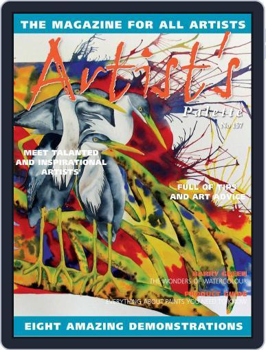Artist's Palette (Digital) January 1st, 2018 Issue Cover