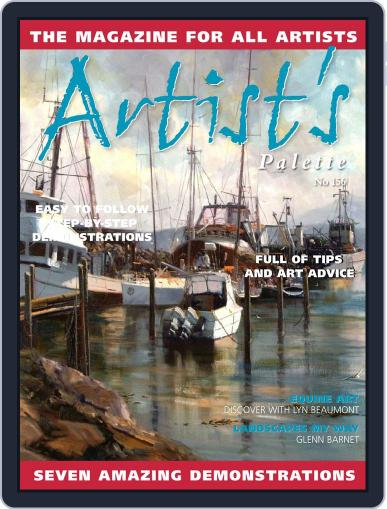 Artist's Palette (Digital) November 1st, 2017 Issue Cover