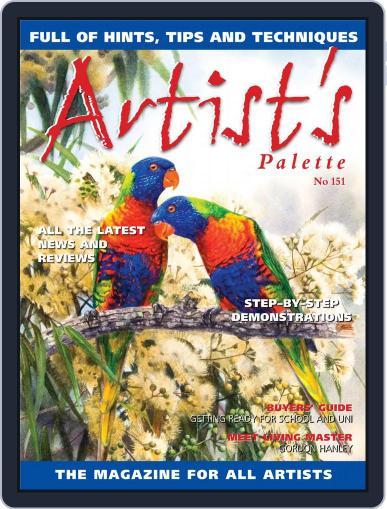 Artist's Palette (Digital) January 1st, 2017 Issue Cover