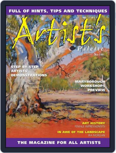 Artist's Palette (Digital) March 28th, 2016 Issue Cover