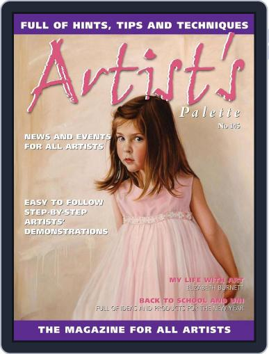 Artist's Palette (Digital) February 9th, 2016 Issue Cover