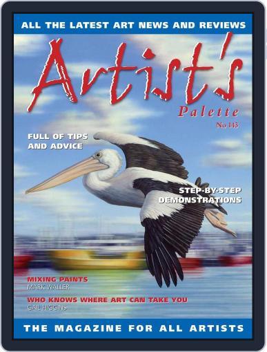Artist's Palette (Digital) September 1st, 2015 Issue Cover