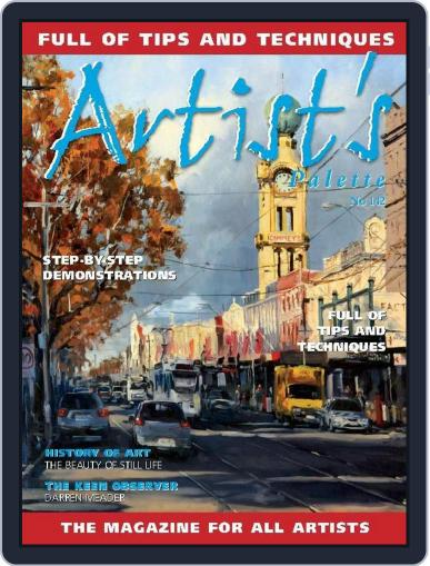 Artist's Palette (Digital) August 16th, 2015 Issue Cover