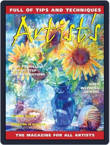 Artist's Palette (Digital) June 3rd, 2015 Issue Cover