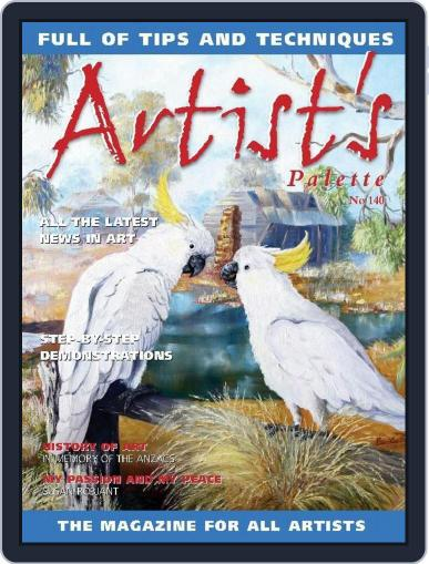 Artist's Palette (Digital) April 13th, 2015 Issue Cover