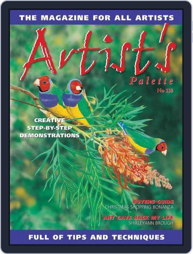 Artist's Palette (Digital) November 1st, 2014 Issue Cover